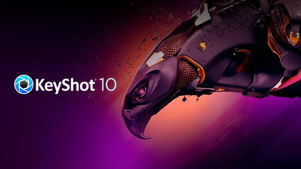 Novedades<br /> <b>KeyShot 10.1</b>